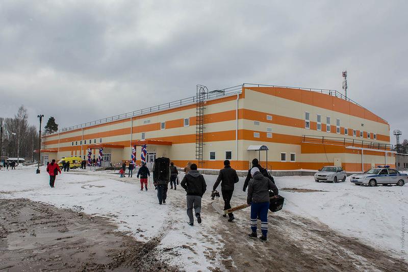 Ледовый дворец в Краснокамске