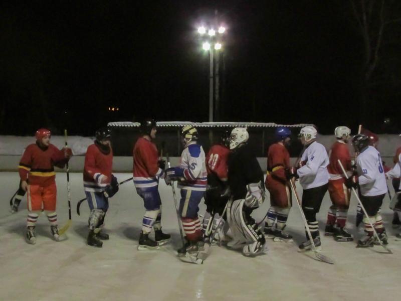 Хоккей в Краснокамске