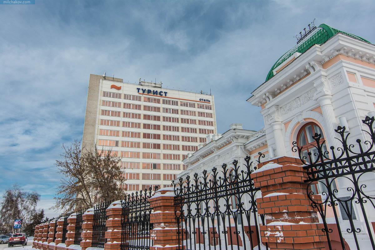 Гостиница Турист Омск